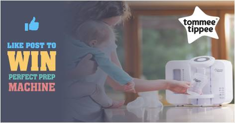 Facebook Competition to win a Tommee Tippee Prep Machine